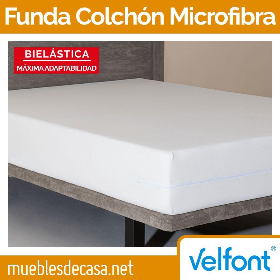 Funda de Colchón Microfibra Elástica de Velfont