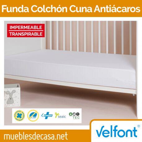 Funda de Colchón Velfont Cuna Antiácaros