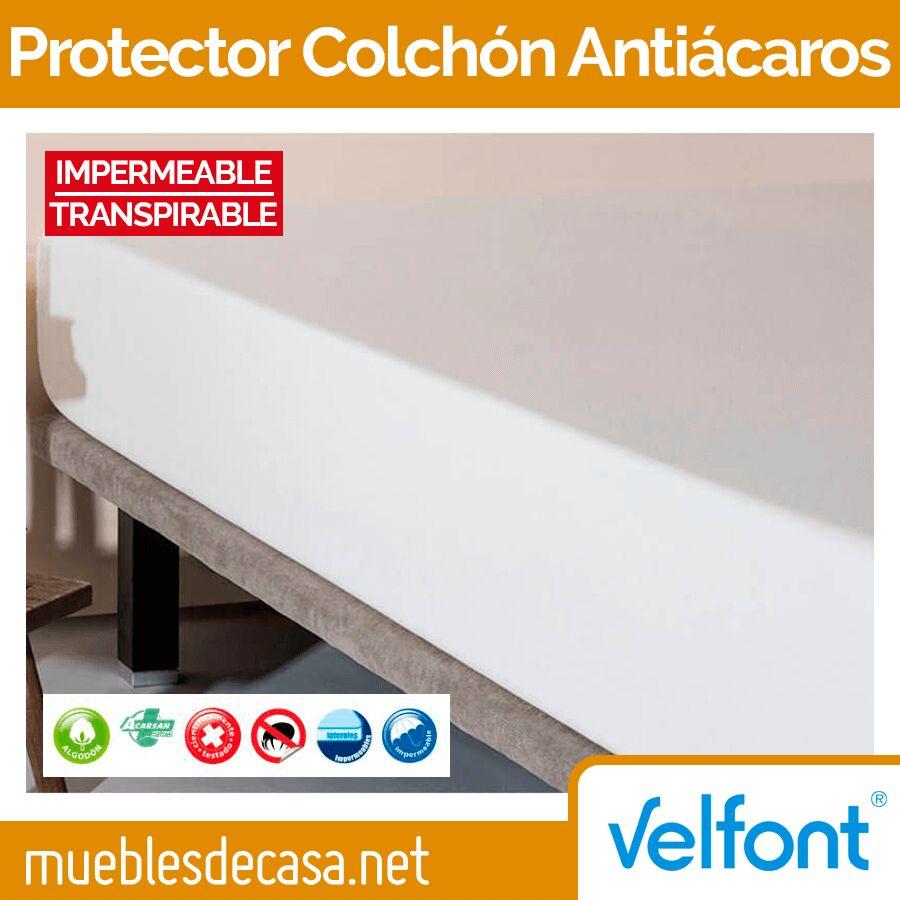 Protector colchón antiácaros impermeable de Velfont