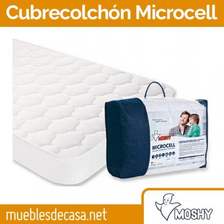 Protector de Colchón Moshy Microcell Reversible y Acolchado