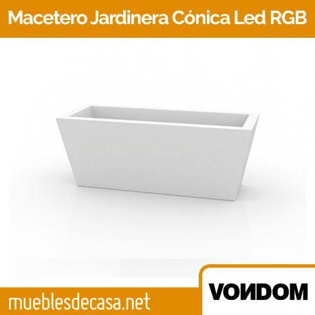 Macetero Vondom Cono LED RGB