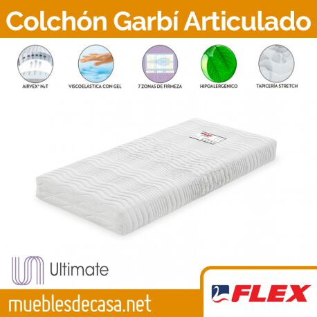 Colchón Flex Garbí Visco Articulado