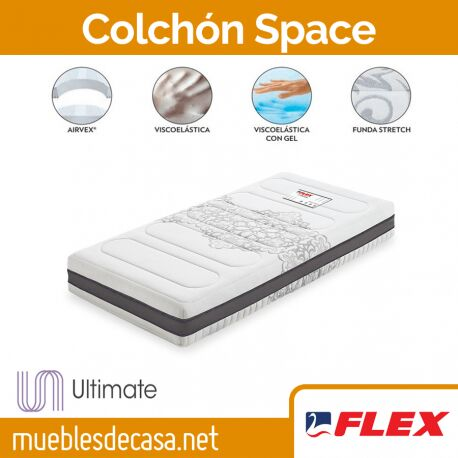 Colchón Flex Space Visco