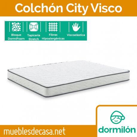 Colchón Enrollado Dormilón City Visco
