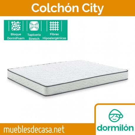 Colchón Enrollado Dormilón City