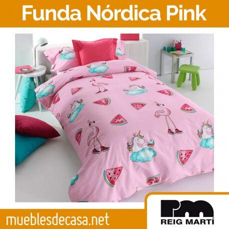 Funda Nórdica Infantil Reig Martí Pink