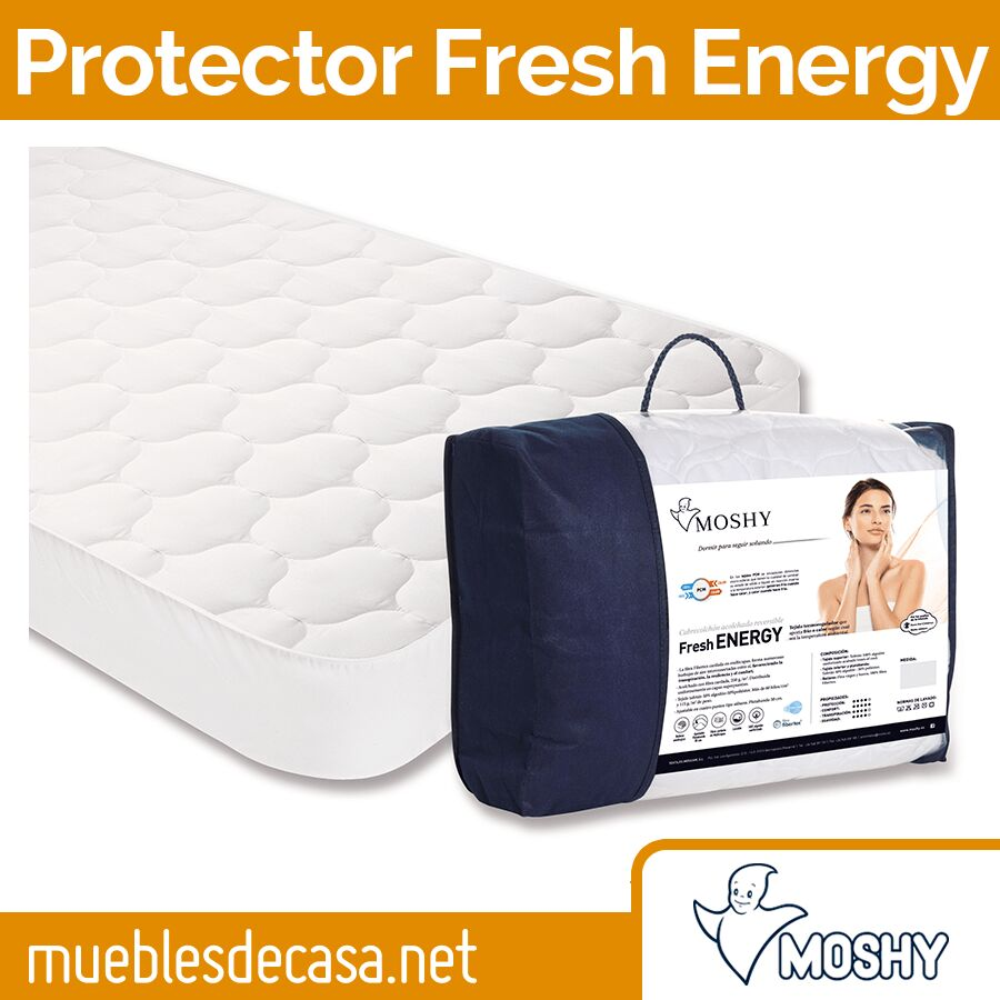 Cubrecolchón Moshy Termorregulador Fresh Energy