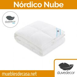 Edredón Nórdico Natural Duvedecor Nube