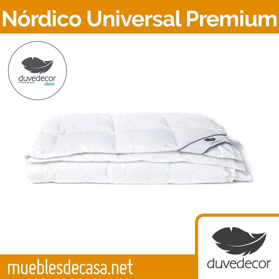 Edredón Nórdico Plumón Duvedecor UNIVERSAL Premium