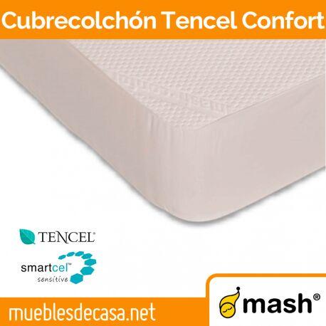 Cubrecolchón Mash Tencel Confort Acolchado