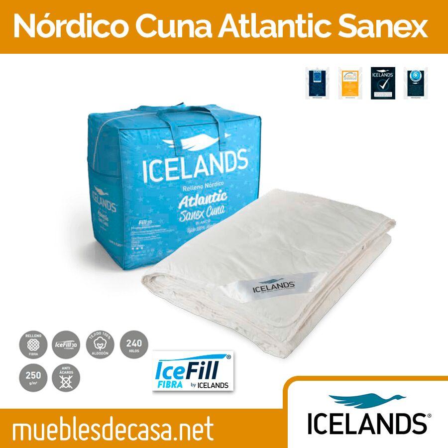 Edredón Nórdico Cuna Icelands Atlantic Sanex