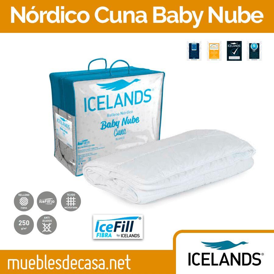 Edredón Nórdico Cuna Icelands Baby Nube