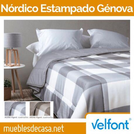 Edredón Nórdico Estampado Velfont Génova