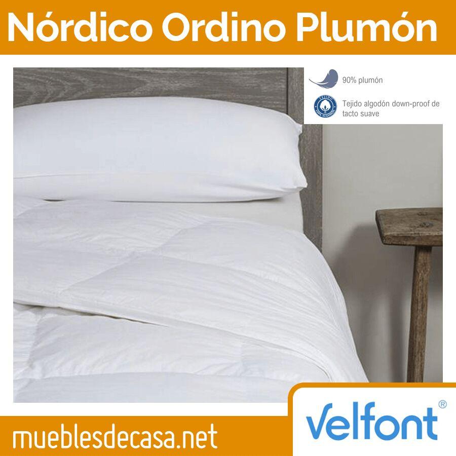Edredón Nórdico Velfont Ordino 90% Plumón