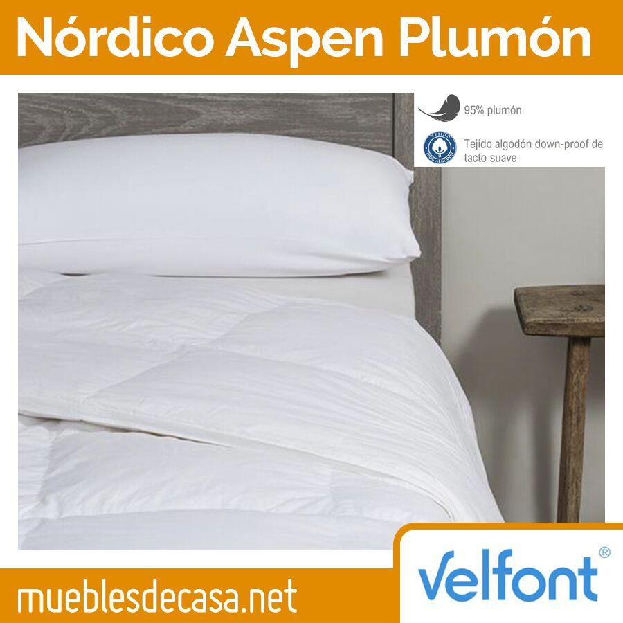 Edredón Nórdico Velfont Aspen 95% Plumón