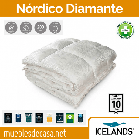Edredón Nórdico Icelands Diamante