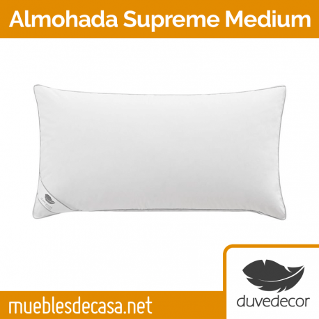 Almohada Duvedecor Supreme Medium