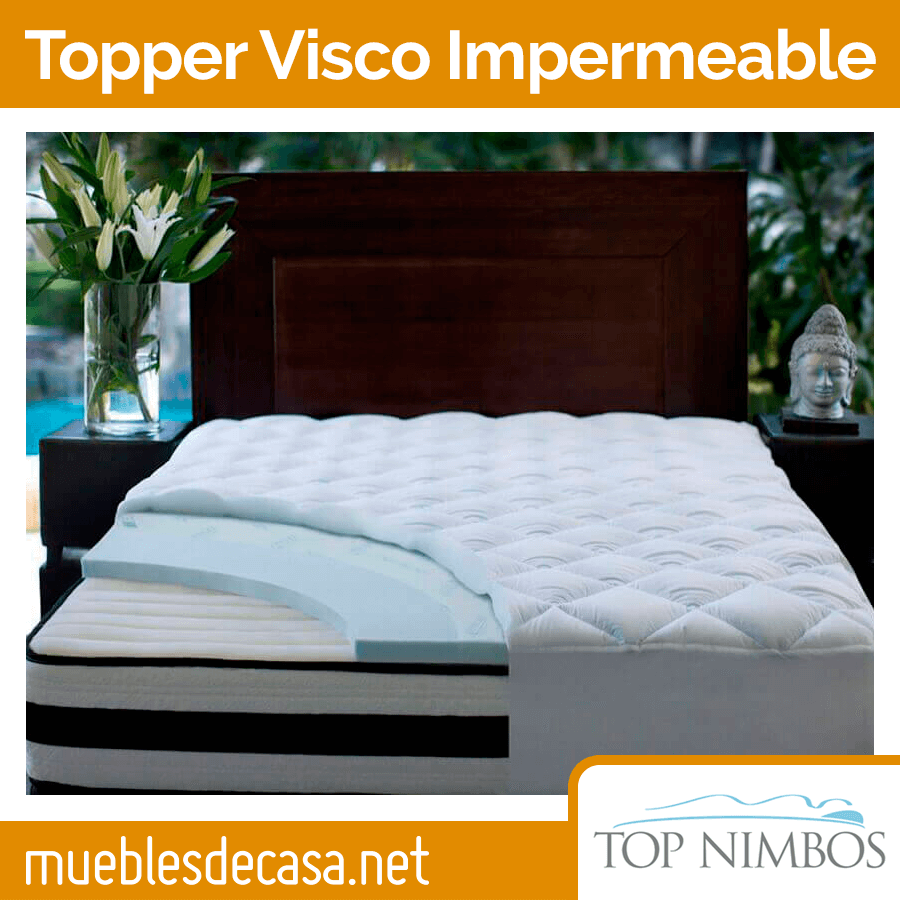 Topper Top Nimbos Viscoelástico Impermeable