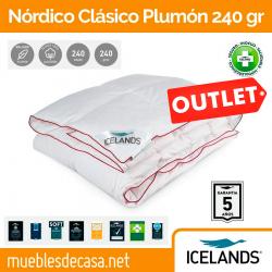 Nórdico Icelands Clásico Plumón 240 gr