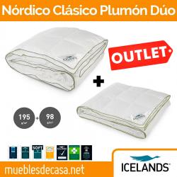 Relleno Nórdico Plumón Icelands Clásico Plumón 4 estaciones