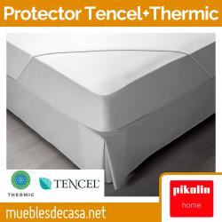 Protector de Colchón y Bajera 2 en1 Tencel® + Thermic® de Pikolin Home