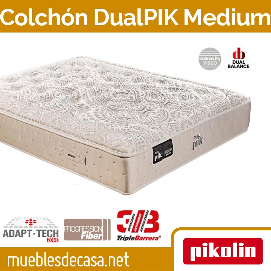 Colchón muelles ensacados DualPIK MEDIUM de Pikolin