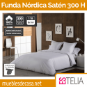 Juego Funda Nórdica Satén 300 Hilos Estelia