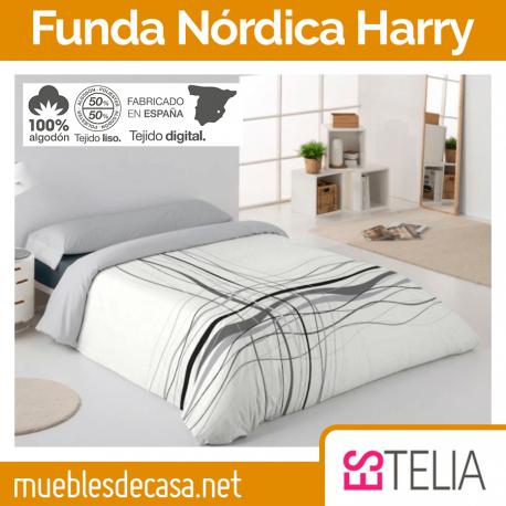 Juego Funda Nórdica Harry 100% Algodón Estelia