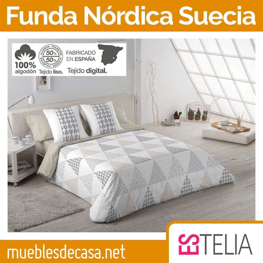 Juego Funda Nórdica Suecia Es-tela