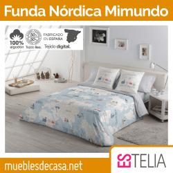 Juego Funda Nórdica Mimundo Es-tela