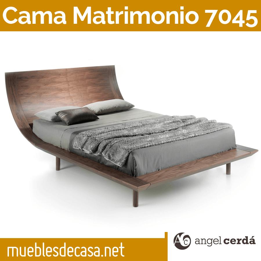 Cama de Matrimonio de Diseño Ángel Cerdá Modelo 7045