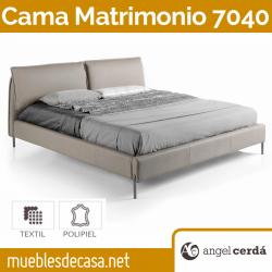 Cama de Matrimonio de Diseño Ángel Cerdá Modelo 7040