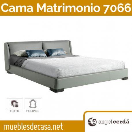 Cama de Matrimonio de Diseño Ángel Cerdá Modelo 7066