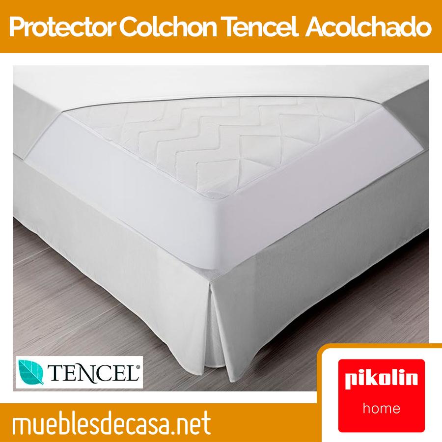 Protector de Colchón Pikolin Home Tencel® + Thermic® Acolchado Impermeable PA32