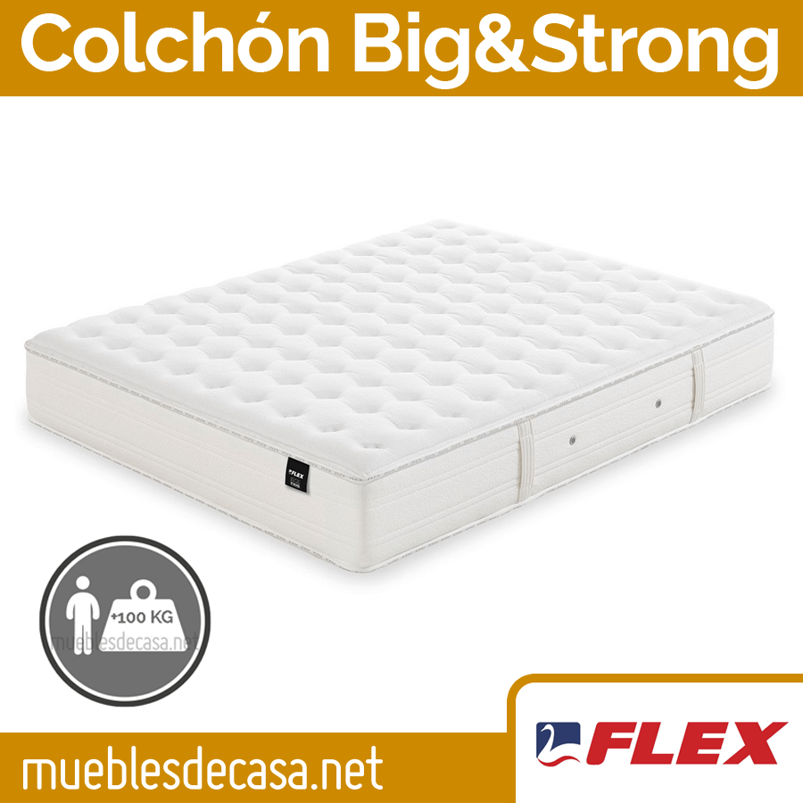 Colchón de muelles Big & Strong de Flex