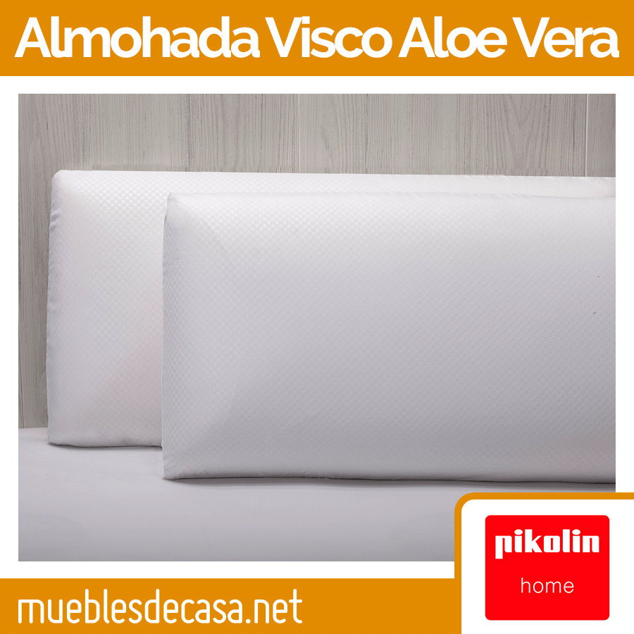 Almohada Pikolin Home Viscoelástica Aloe Vera AH24