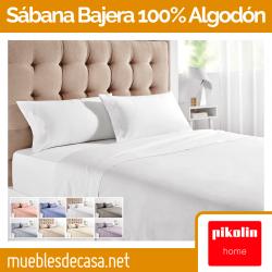 Sábana Bajera Pikolin Home 100% Algodón BA60