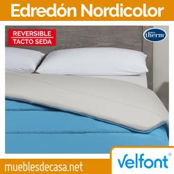 Edredón Nórdico Nordicolor Bicolor de Velfont