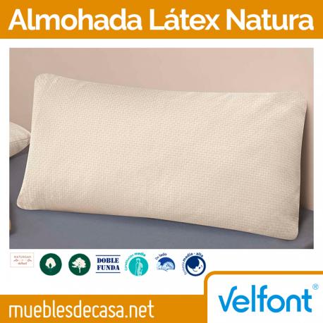 Almohada Velfont Látex Natura
