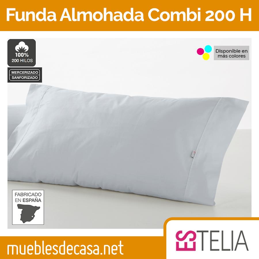Funda de Almohada Algodón 200 Hilos de Es-tela