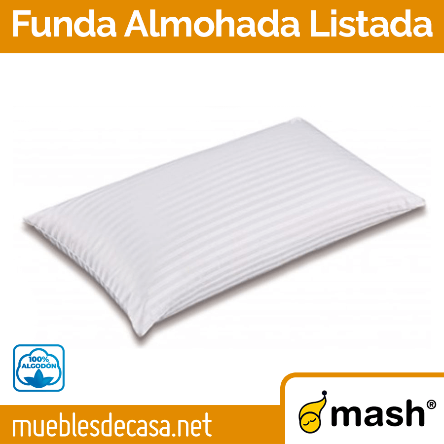 Funda de Almohada Mash Listada