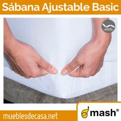 Sábana Ajustable Mash Basic para Colchones Gemelos
