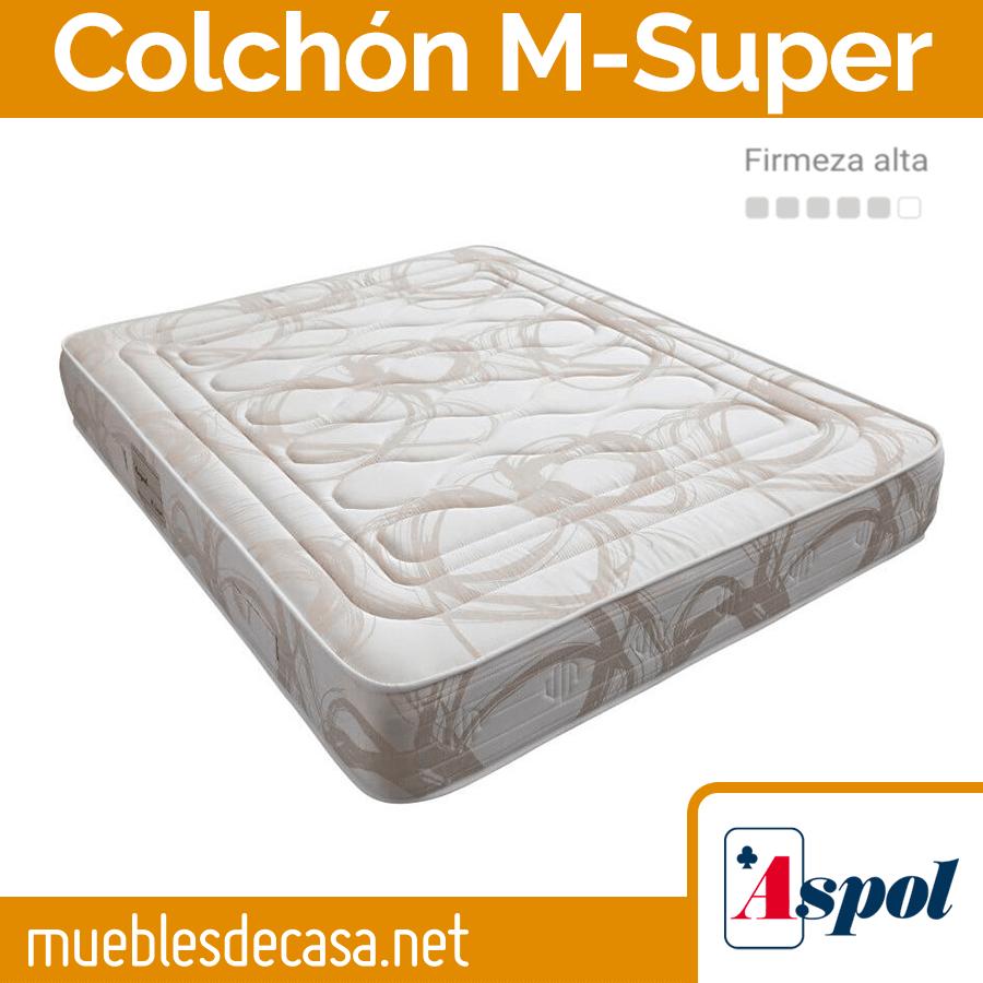Colchon Línea Muelles Aspol M-Super