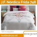 Juego de Funda Nórdica 100% algodón Frida 748-C15 de Manterol