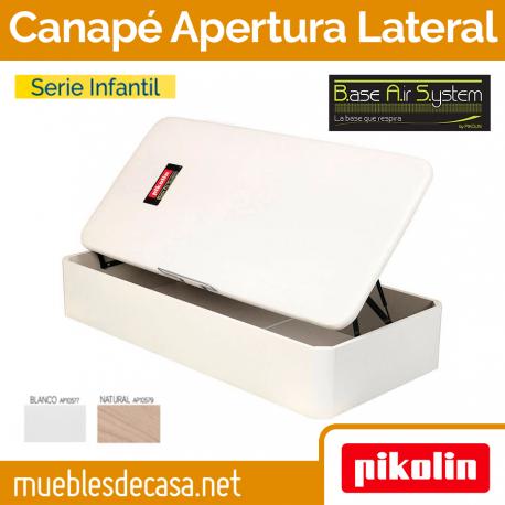 Canapé Abatible Juvenil Pikolin Naturbox con Apertura Lateral