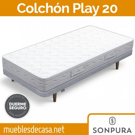 Colchón Juvenil Sonpura Play 20