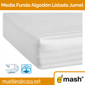 Media Funda de Colchón Mash Algodón Listada Jumel