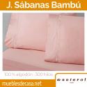 Juego de Sábanas Manterol Bambú 300 hilos