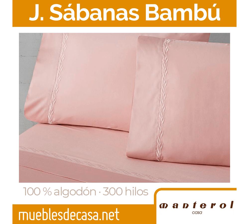 Juego de Sábanas Bambú 300 hilos de Manterol