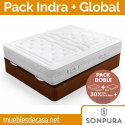 Pack Sonpura Canapé Abatible Global y Colchón Indra